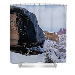 Canyonlands Swirl Shower Curtain