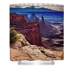 Canyonlands Vista  Shower Curtain