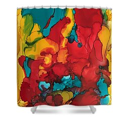 Canyons Of Color Shower Curtain