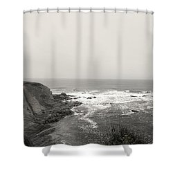 Cap Des Rosiers Shower Curtain