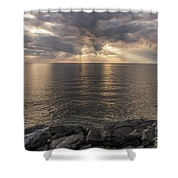 Cape Breton Island Shower Curtain
