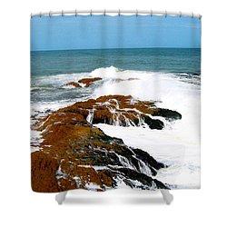 Cape Coast Ghana  Shower Curtain