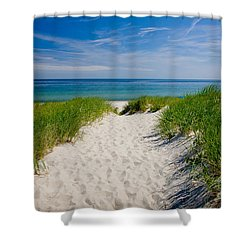 Cape Cod Bay Shower Curtain by Susan Cole Kelly