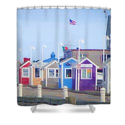 Cape Cod Cabins Shower Curtain