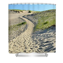 Cape Cod Dune Path Shower Curtain