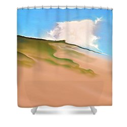 Cape Cod Shower Curtain by Jurek Zamoyski