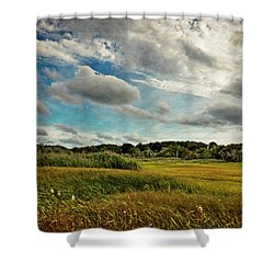 Cape Cod Marsh 2 Shower Curtain