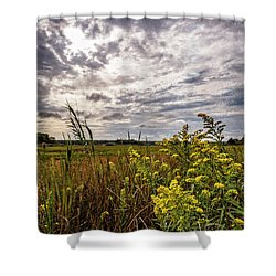 Cape Cod Marsh 4 Shower Curtain