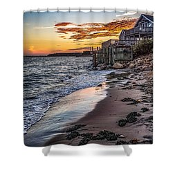 Shower Curtain featuring the photograph Cape Cod September by Kendall McKernon