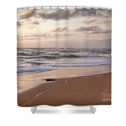 Shower Curtain featuring the photograph Cape Cod Sunrise 1 by Susan Cole Kelly
