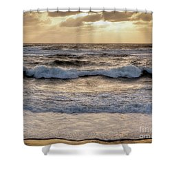 Shower Curtain featuring the photograph Cape Cod Sunrise 2 by Susan Cole Kelly