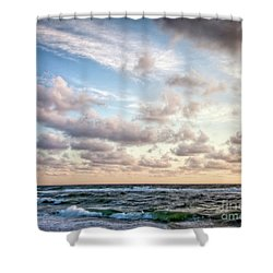 Shower Curtain featuring the photograph Cape Cod Sunrise 3 by Susan Cole Kelly
