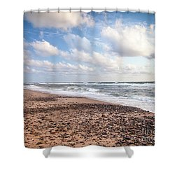 Shower Curtain featuring the photograph Cape Cod Sunrise 4 by Susan Cole Kelly