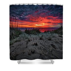 Cape Cod Sunrise Shower Curtain