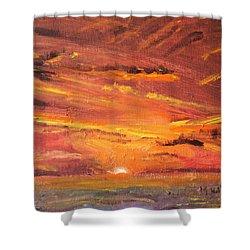 Cape Cod Sunset II Shower Curtain
