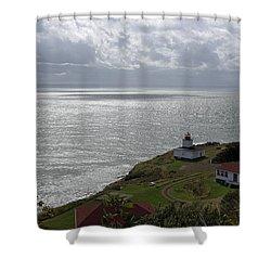 Cape D'or Lighthouse Shower Curtain