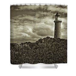 Shower Curtain featuring the photograph Cape Du Couedic by Tom Vaughan