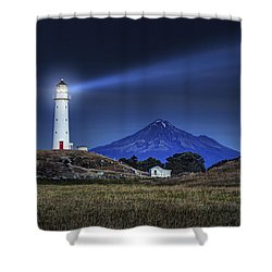 Cape Egmont Shower Curtain