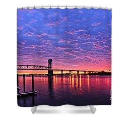 Cape Fear Bridge1 Shower Curtain