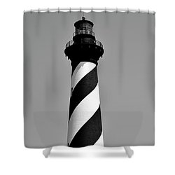Cape Hatteras Island Light Shower Curtain