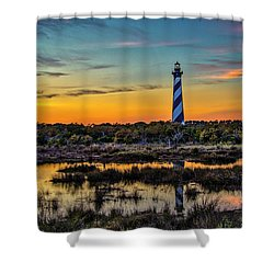 Cape Hatteras Lighthouse Shower Curtain