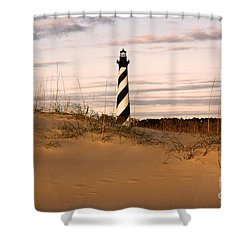 Cape Hatteras Lighthouse Shower Curtain by Tony Cooper