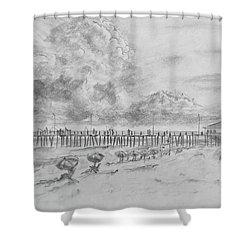 Cape Hatteras Summer Day Shower Curtain