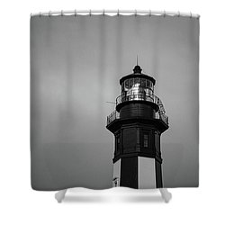 Cape Henry Lighthouse Shower Curtain