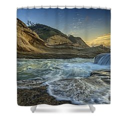 Cape Kiwanda Shower Curtain by Rick Berk