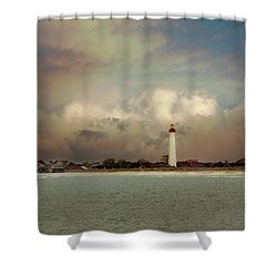 Cape May Lighthouse II Shower Curtain