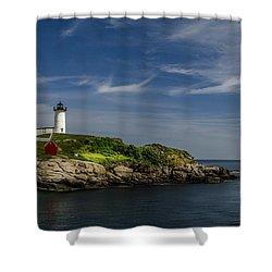 Cape Neddick Lighthouse Shower Curtain