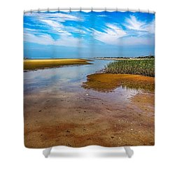 Shower Curtain featuring the photograph Cape Perspective by Kendall McKernon