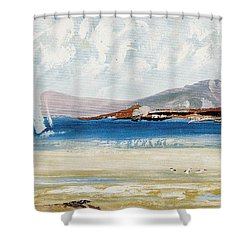 Cape Sailing Shower Curtain