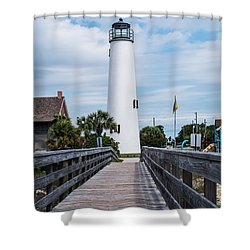 Cape St. George Lighthouse Shower Curtain