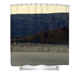 Cape Town Under Table Rock Shower Curtain