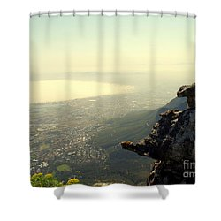 Cape Town View From Table Rock Shower Curtain