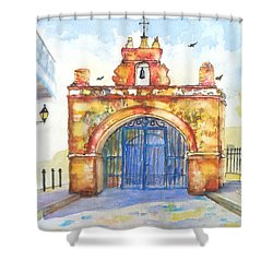 Capilla Del Cristo Puerto Rico Shower Curtain