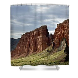 Capital Reef-cathedral Valley 9 Shower Curtain