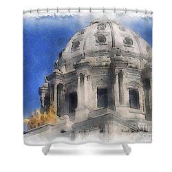 Capitol Dome St Paul Minnesota Shower Curtain