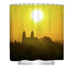 Capitol Hill Sunrise   Shower Curtain