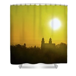 Capitol Hill Sunrise Too Shower Curtain