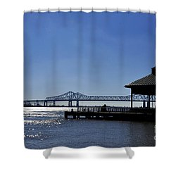 Capitol One Plaza Shower Curtain