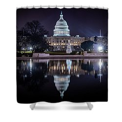 Capitol Reflects Shower Curtain