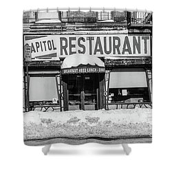 Capitol Restaurant Shower Curtain