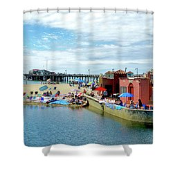 Capitola Begonia Festival Weekend Shower Curtain