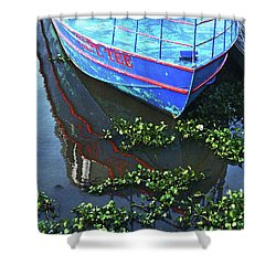 Cap'n Tee Henderson Swamp Shower Curtain