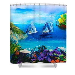 Capri Colors Shower Curtain