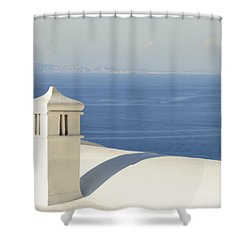 Shower Curtain featuring the photograph Capri by Silvia Bruno