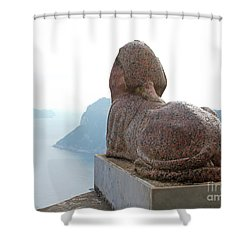 Capri, Villa San Michele 1 Shower Curtain