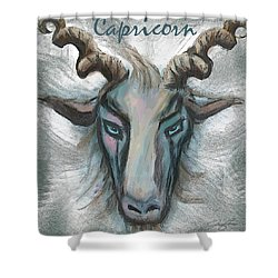 Capricorn Shower Curtain